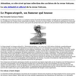 Le Popocatepelt, un fumeur qui tousse