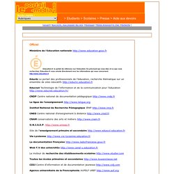 Le portail media education