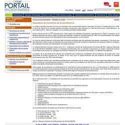 Le Portail Microfinance :