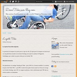 Le porte Trike - DomiTrike.over-blog.com
