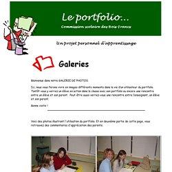 Le portfolio - Galeries