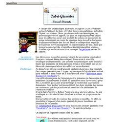Le préambule - Cabri