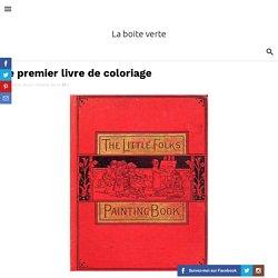 Le premier livre de coloriage