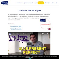 Le Present Perfect