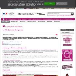 Le Prix Goncourt des lycéens