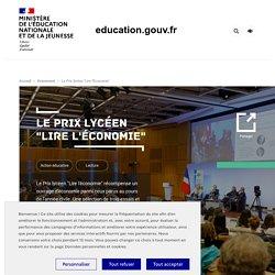"""Le Prix lycéen """"Lire l'Économie"""""""