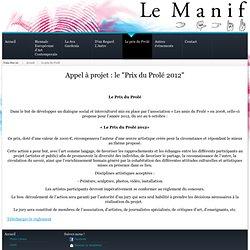 Le prix du Prolé - Le Manif