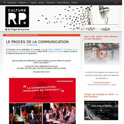 LE PROCES DE LA COMMUNICATION