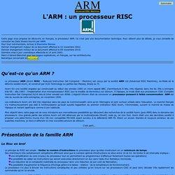 Le processeur ARM : présentation.