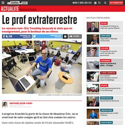 Le prof extraterrestre