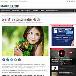 Le profil du consommateur de bio