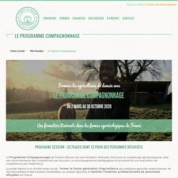 Formation longue : Le Programme Compagnonnage