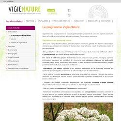 Le programme Vigie-Nature