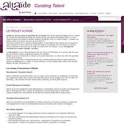 Le projet Altaïde