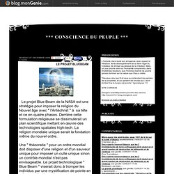 LE PROJET BLUEBEAM (Consciencedupeuple2007)