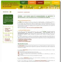 Projet Coxinel - PSDR Coxinel