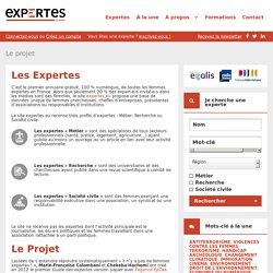 Le projet - Les Expertes