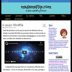 le projet MiniFlip