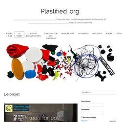 Platified - Recyclage plastique