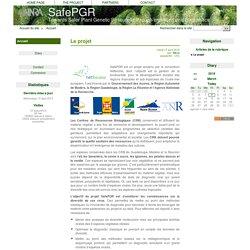 INRA ANTILLES 17/04/12 PROJET SafePGR : SafePGR est un projet soutenu par le consortium Netbiome, dont l'objectif est la gestion de la biodiversité, pour le développement durable des régions tropicales et sub-tropicales de l'outre-mer européen. Il est fin