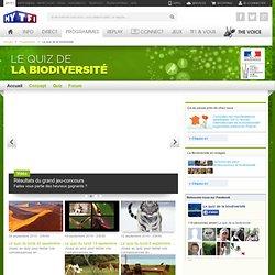 Le quiz de la biodiversité - Le site officiel de l'émission Le quiz de la biodiversité