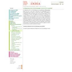 INHA: Le RAA (1910-1972)