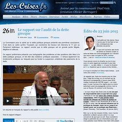 » Le rapport sur l'audit de la dette grecque