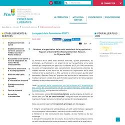 Le rapport de la Commission COUTY