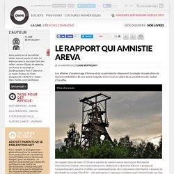 Le rapport qui amnistie Areva