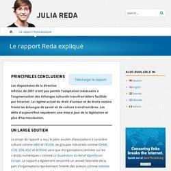 Le rapport Reda expliqué