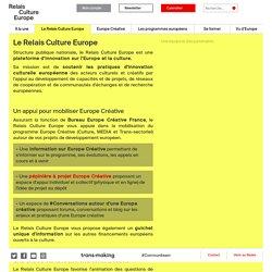 Le Relais Culture Europe - Relais culture europe