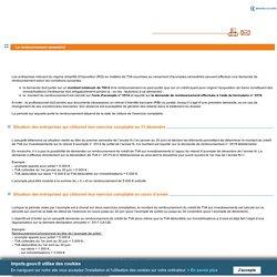 RSI TVA : Le remboursement semestriel