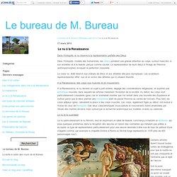 Le nu à la Renaissance - Le bureau de M. Bureau