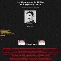 Le Résonateur de TESLA