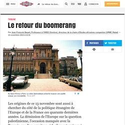 Le retour du boomerang