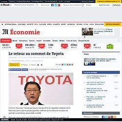 Le retour au sommet de Toyota
