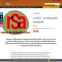 Le RSA : un dispositif inadapté