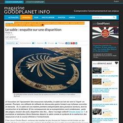 Le sable: enquête sur une disparition