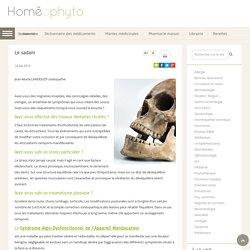 Le sadam - Homeophyto