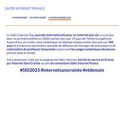 LE SAFER INTERNET DAY – SAFER INTERNET FRANCE