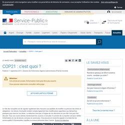 Le saviez-vous? -COP21: c'est quoi?