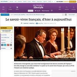 Le savoir-vivre français, d'hier à aujourd'hui