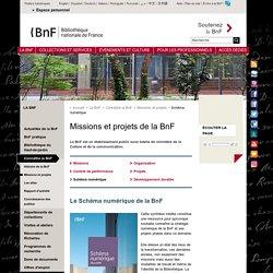 Le Schéma numérique de la BnF