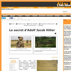 Le secret d'Adolf Jacob Hitler
