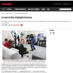 Le secret des employés heureux
