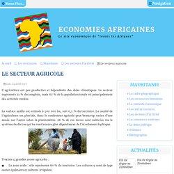 Le secteur agricole en Mauritanie