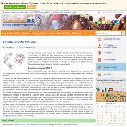 Le secteur des ONG françaises