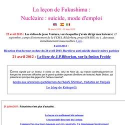 Le séisme japonais de mars 2011