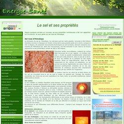 Le sel et ses propriétés