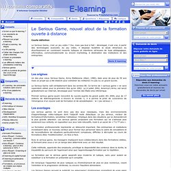 LE SERIOUS GAME | E-learning